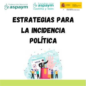 Estrategias para la incidencia política